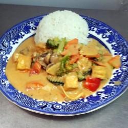 93. Gebratenes Tofu