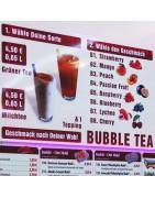 Bubble Tea Sorten